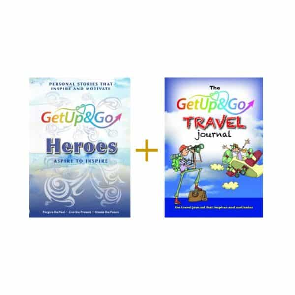 *** SPECIAL OFFER BUNDLE *** Get Up and Go Heroes & Travel Journal