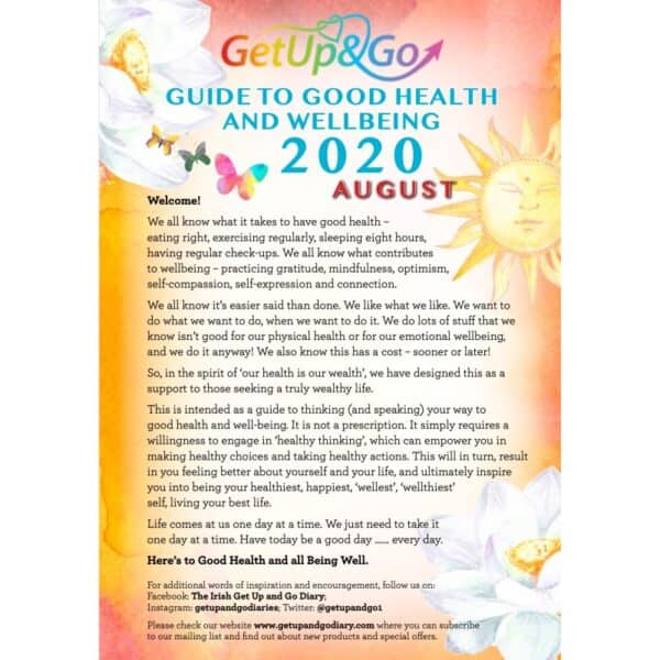 Guide to good health and wellbeing - August