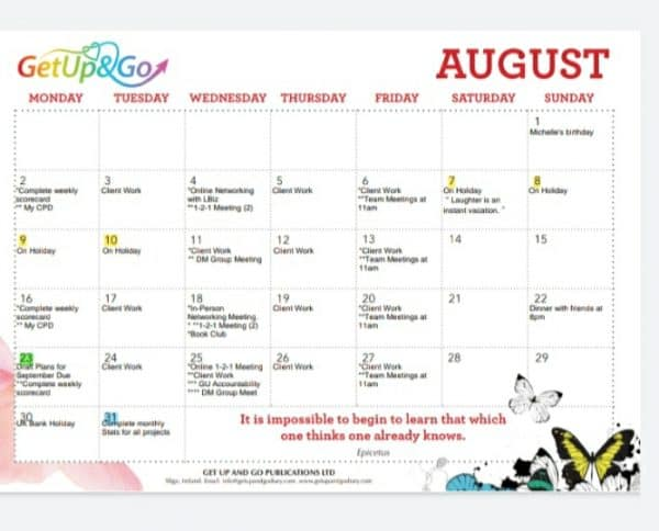 Aug 2021 - GetUpAndGo Digital Calendar Sample